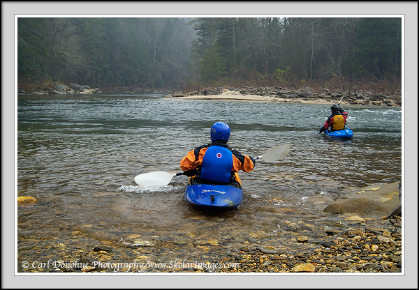 how to go whitewater kayaking