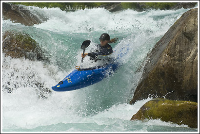 Whitewater Kayaking on the Futaleufu River, Patagonia, Chile