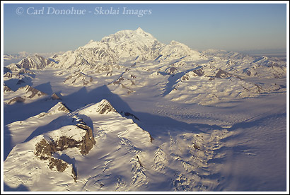 Aerial photos, Mt. St. Elias photo, Wrangell St. Elias National Park, Alaska.