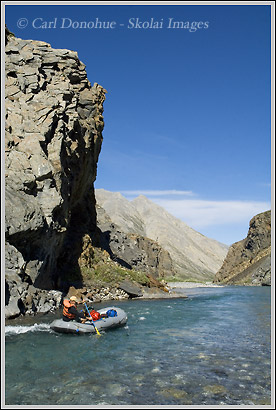 Rafting the Canning River, ANWR
