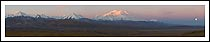 Denali and the Alaska Range photo - a panoramic view.