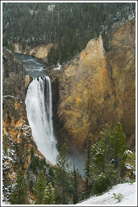 Lower Falls, Yellowstone National Park, Wyoming.