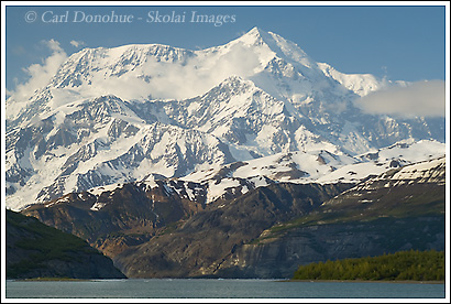 Mount Saint Elias photo, Icy Bay, Wrangell - St. Elias National Park, Alaska.