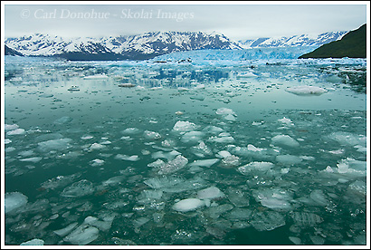 Disenchantment Bay and the Hubbard Glacier, near Yakutat, Alaska.