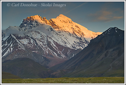 Mt Drum, Wrangell St. Elias National Park, Alaska.