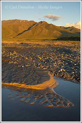 Canning River, Brooks Mountain Range, ANWR, Alaska.
