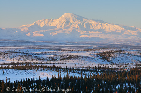 Mount Sanford, Wrangell - St. Elias National Park, Alaska.