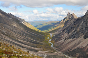 Arrigetch Creek, Arrigetch Peaks, Gates of the Arctic National Park and Preserve, Alaska.
