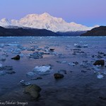Mount Saint Elias and Icy Bay, Wrangell - St. Elias National Park, Alaska.