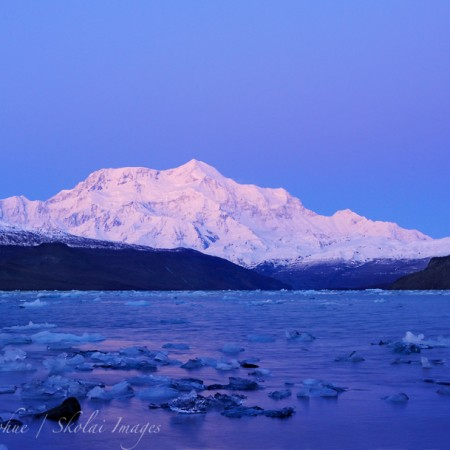 Mt. St. Elias, Icy Bay, Wrangell - St. Elias National Park and Preserve, Alaska.