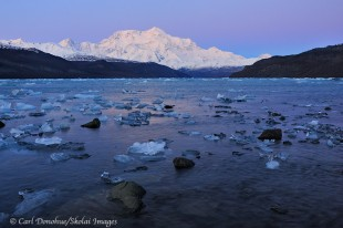 Mount Saint Elias and Icy Bay, Wrangell - St. Elias Park.
