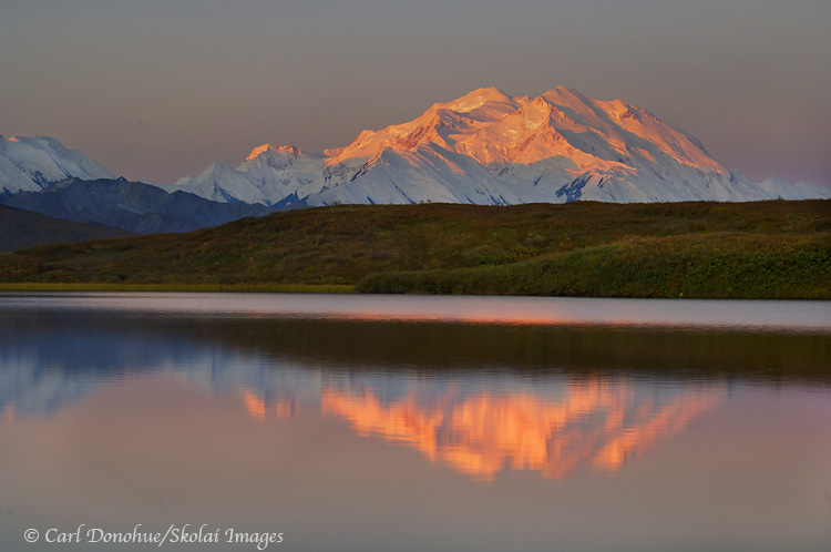 Denali, Or Mt. McKinley, Denali National Park, Alaska.