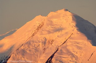 The North Peak of Mt. McKinley, Denali National Park, Alaska.