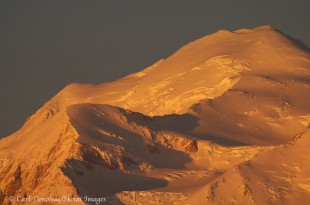 The summit of Denali, Denali National Park, Alaska.