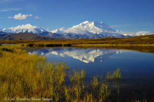 Denali photo, Mt. McKinley, Denali National Park, Alaska.