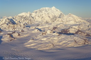 Mount Saint Elias aerial.