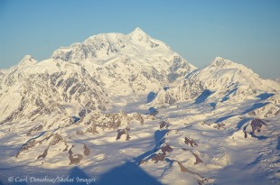 Mt. St. Elias from the air.