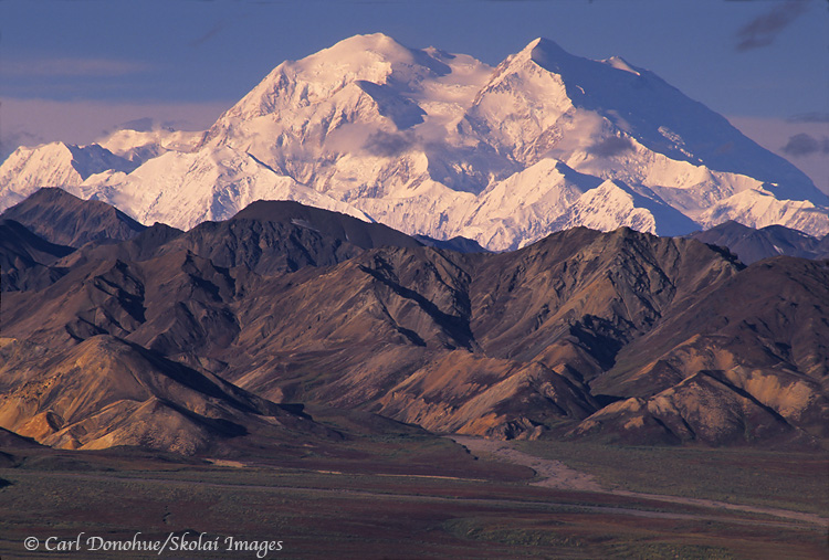 Denali, the mountain, DenalI National Park, Alaska.