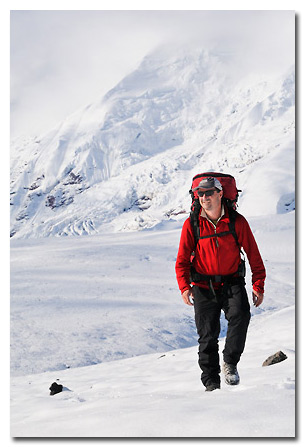 Expeditions Alaska guide and Skolai Images stock photographer Carl Donohue