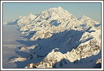 Mt St. Elias and the Bagley Icefield, Wrangell - St. Elias National Park, Alaska