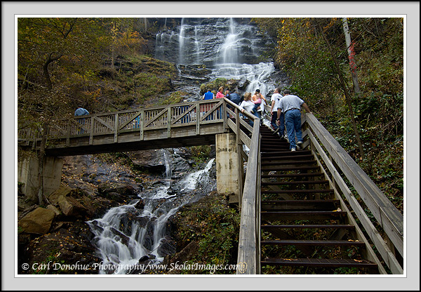 Georgia Vacation Destinations Amicalola Falls Picture