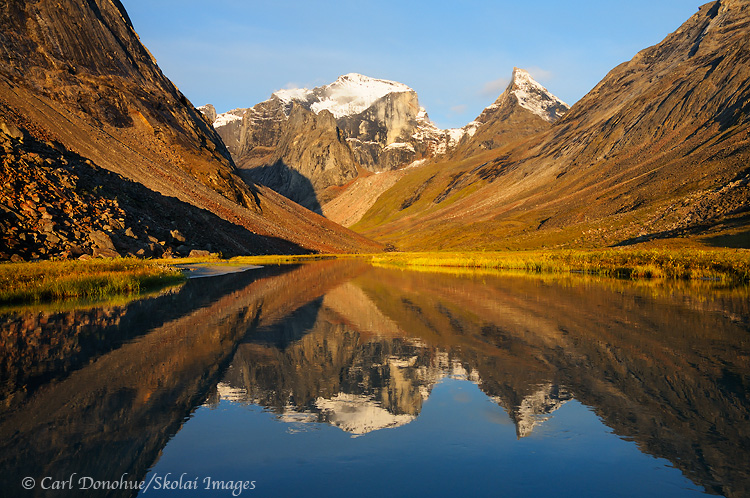 Arrigetch Creek, the Arrigetch Peaks, Gates of the Arctic National Park and Preserve, Alaska.