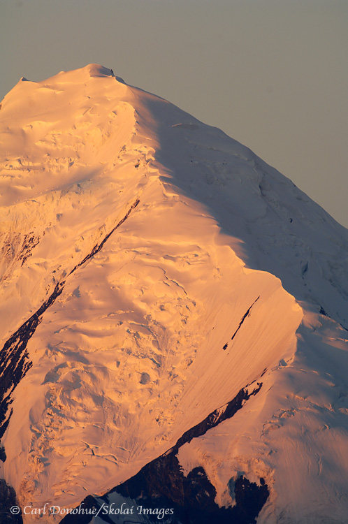 Mt. McKinley summit, Denali National Park, Alaska.