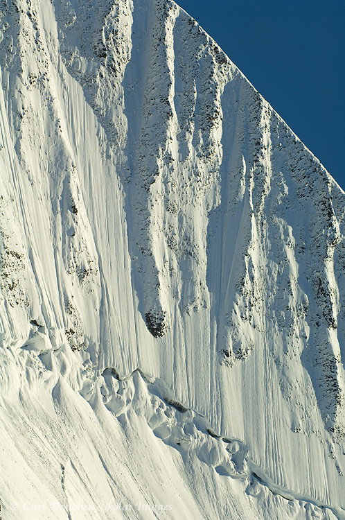 The vertical wall of Mt. St. Elias