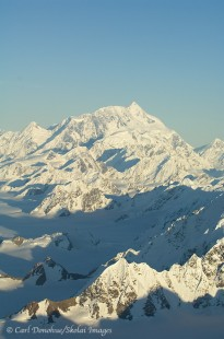 Aerial photo of Mt. St. Elias