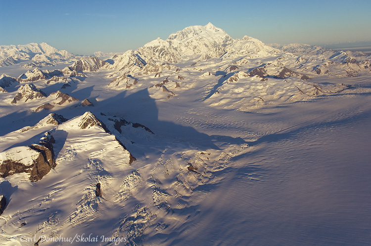 The Bagley Icefield and Mt. St. Elias