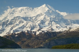 Mount St. Elias and Icy Bay.